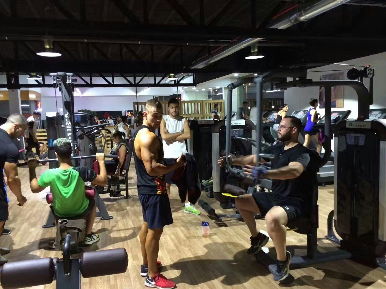 LMCC Fitness Club Opening Ceremony - Workout machine ...